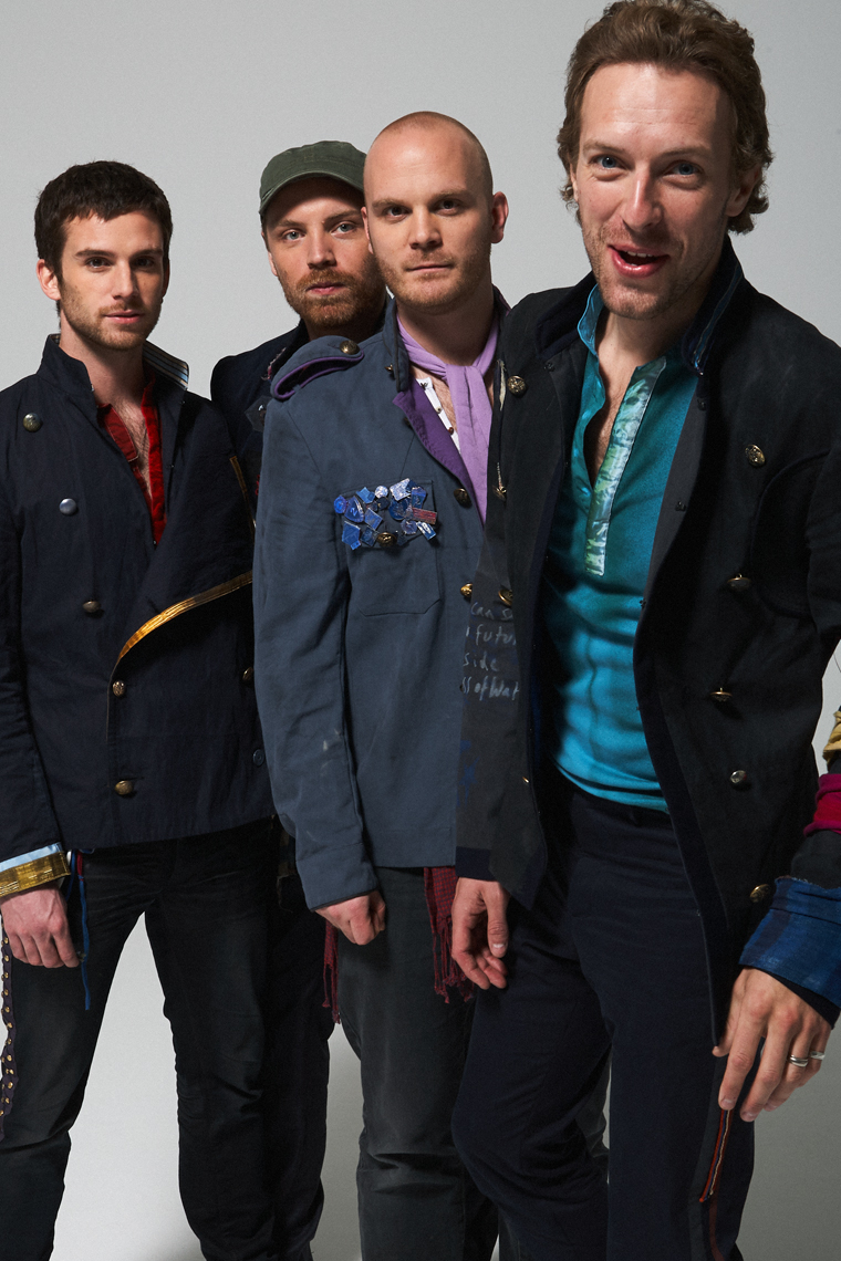 Coldplay by Tom Oxley