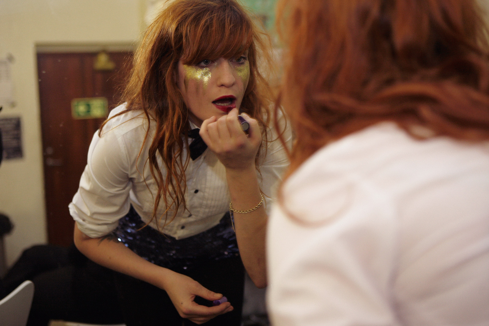 Florence Welch (Florence and The Machine) photographed by Tom Oxley