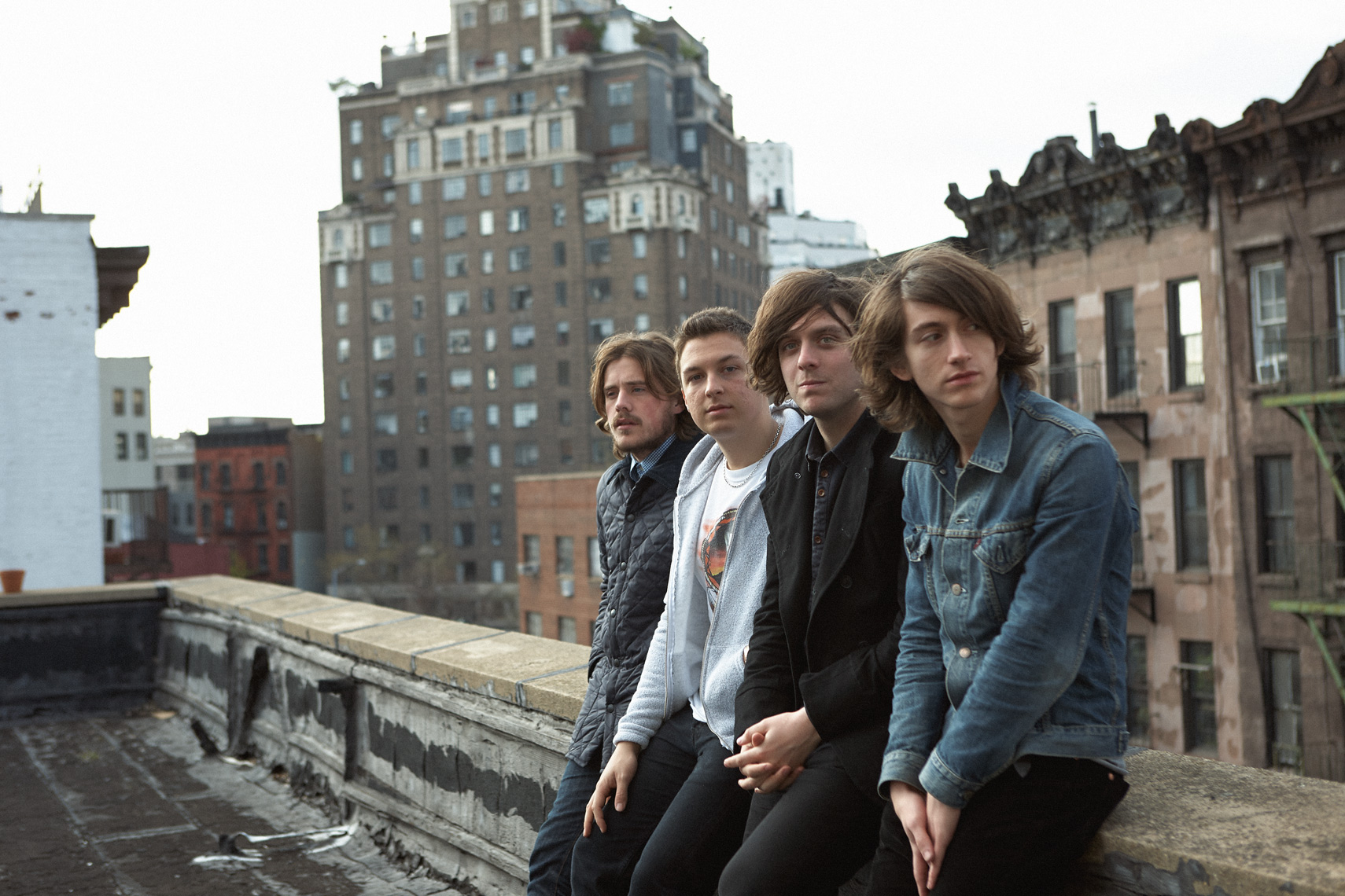 Arctic Monkeys in New York by Tom Oxley